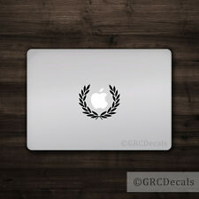 Laurel - Mac Apple Logo Cover Laptop Vinyl Decal Sticker Macbook Roman Caesar