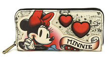 Disney Minnie Mouse Wallet Tattoo Flash Loungefly 2016 NEW RELEASE Licensed