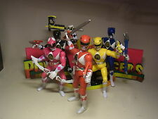Toy Diorama Display MMPR 5 90er Jahre Power Rangers Action Figuren