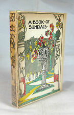 Jessie M King - A Book of Sundials & Mottoes - Lovely Illustrated Boards - 1922