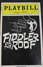 Fiddler on the Roof Signed Autographed PLAYBILL Minskoff Theater Andrea Martin