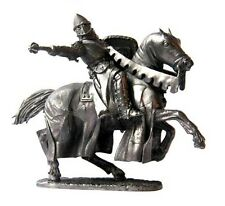 Lead soldier toy,   Knight Crusade ,on the horse,collectable,rare,gift,detaile