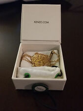 KENZO tiger bracelet (yellow gold plated)
