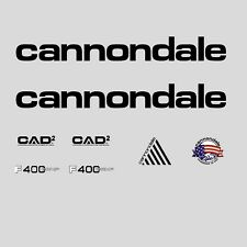 Cannondale F400 Comp CAAD2 Bicycle Decals, Transfers, Stickers: n.300