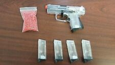 Walther Licensed Refurbished Airsoft P99C Clear Spring Pistol 5 mags and 400 bb