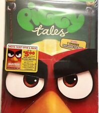 Piggy Tales Season 2 (DVD) With Red Angry Bird Mask And Movie Ticket Offer!