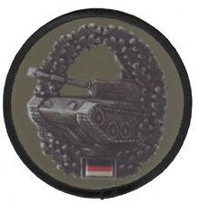 Panzertruppe Aufnäher/Patch Bundeswehr/Barettabzeichen/Soldat/Bw/Heer/