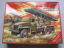 ICM 35512 BM-13-16N WWII Soviet Multiple Launch Rocket System 1:35 R ohne Decals