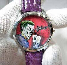 "BATMAN,""The Joker"" Classic Colors ,MEN'S CHARACTER WATCH,1080,L@@K!"