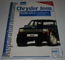 Reparaturanleitung Chrysler Jeep Wrangler YJ Cherokee XJ Benzin + Diesel NEU!