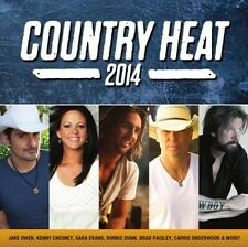 Country Heat 2014 Various Artists MUSIC CD