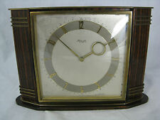 Beautiful Heinrich Möller Art Deco Design Kienzle table clock schöne Tisch Uhr