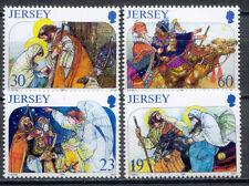 Weihnachten, Christmas - Jersey - 760-763  ** MNH 1996