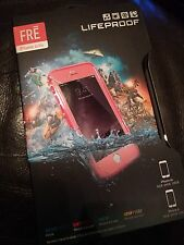 FRE Lifeproof Case Snow/Dirt/Drop/WaterProof iPhone 6/6s PINK/PINK BNIB SEALED