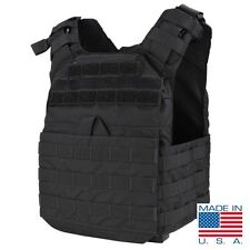 Condor US1020 BLACK Cyclone Lightweight Plate Carrier MOLLE Tactical Vest