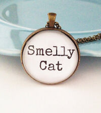 Smelly Cat Necklace, Funny Necklace, It's Not Your Fault, Best Friend Gift, Frie