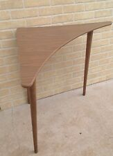 Mid Century Danish Eames Atomic Boomerang Formica Top Side End Corner Table