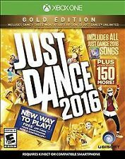 Just Dance 2016 Gold Edition Xbox 1 One - NEW & SEALED!