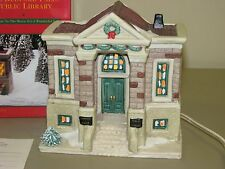 It's A Wonderful Life Christmas Village Bedford Falls Public Library Target