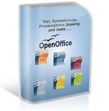 Open Office 2010 PRO EDITION per MICROSOFT WINDOWS. IDEALE per la casa o Studente