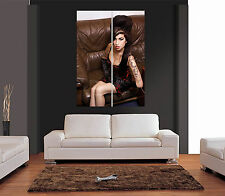 AMY WINEHOUSE Ref 01 Giant Colour Wall Art Print Picture Poster