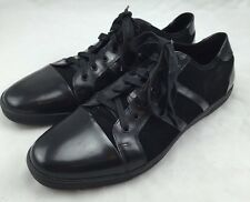 Kenneth Cole Men's Down 4 It Black Leather Sneaker size 11 M $145 ns8/31