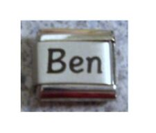 Italian Charms Charm   Names Name - Ben