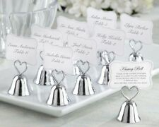 Kissing Bells Wedding Place Card Holders Photo Holders Set of 24 Favor