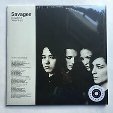 SAVAGES - SILENCE YOURSELF * LP MINT * CLEAR VINYL * FREE P&P UK * INC DOWNLOAD