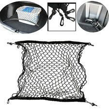 NICE CAR TRUCK MESH STORAGE NET ORGANIZER ELASTIC AUTO SUV BACK BAG WITH 4 HOOKS