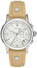DKNY Khaki Silicone Chronograph Ladies Watch NY8174