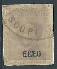 1912 EGEO USATO EFFIGIE 50 CENT - RR1723-2
