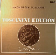 "WAGNER UND TOSCANINI TOSCANINI EDITION RCA-AT400-12"" LP  [k358]"