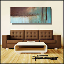 ABSTRACT MODERN CANVAS PAINTING CONTEMPORARY WALL ART 60x24 US ELOISExxx