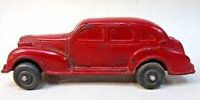 Auburn Rubber 1937 OLDSMOBILE 4 Door car DARK RED