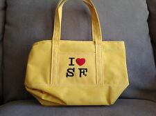 "San Francisco Purse Handbag - Yellow, ""I Love SF"""