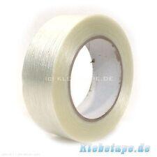 6x Filamentband 50mm x 50m Filament Klebeband Glasfaser Gewebeband verstärkt