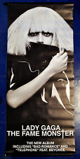 LADY GAGA official promo vinyl banner THE FAME MONSTER Perfect illusion Joanne