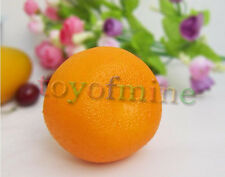Artificial Arancione Grande plastica Arance decorativi Best-vendita caldo
