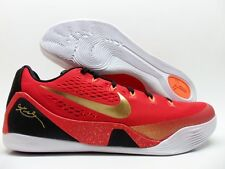 NIKE KOBE IX CH CHINA PACK UNIVERSITY RED/GOLD-BLACK SIZE MEN'S 10 [683251-670]
