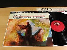 RCA Living Stereo LSC-2374 BARTOK Music For Strings REINER 1S NM & NM/NM- PROMO!