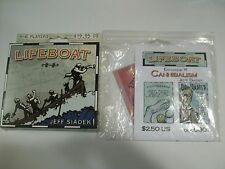 Gorilla Board Games Lifeboat & Cannibalism Expansion Sealed Free Shipping!!!!