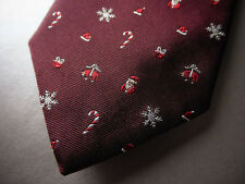 New! Brooks Brothers Christmas Holiday Golden Fleece Logo SILK TIE  ~ $79 NWOT