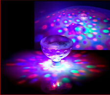Underwater LED Floating Disco Light Glow Show Swimming Pool Hot Tub Spa Lamp