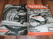 MOTORRAD vom 17.7.1965 -- TEST:  YAMAHA 250 / Deutscher Sieg in Bergamo / AVUS