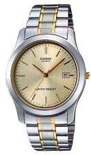 Casio MTP1141G-9A Men's Standard Analog Two Tone Champagne Dial Dress Watch