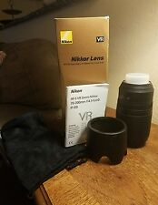 Nikon AF-S VR ZOOM-NIKKOR 70-300mm F/4.5-5.6 G IF-ED