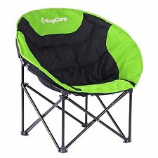 KingCamp Moon Leisure Chair Outdoor Home Camping Travel Folding Chair+Carry Bag