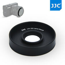 JJC ES-22 Lens Hood Shade for Canon EF-M 28mm f/3.5 IS STM Macro Lens+ M2 M3 M10