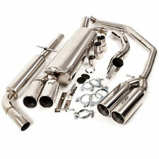 STAINLESS STEEL CAT BACK EXHAUST SYSTEM FOR VOLKSWAGEN VW GOLF IV MK4 GTI 20V